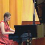 Бабич Роза. Отчётный концерт учащихся, 2013 г.