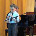 Ермоленко Саша. Отчётный концерт учащихся,  2013 г.