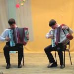 """Квартет """"Гармоника"""". Отчётный концерт учащихся,  2013 г."""