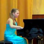 Козлова Алина. Отчётный концерт учащихся,  2013 г.
