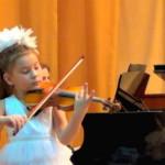 Лисицына Аделина. Отчётный концерт учащихся,  2013 г.