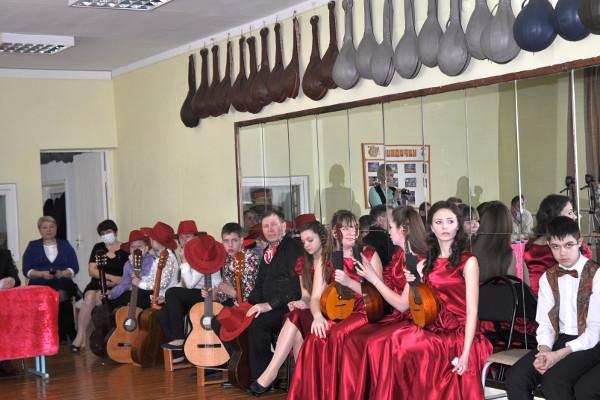 Творческое содружество - Конкурс на отделении народных инструментов