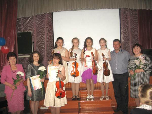 О сольном  концерте скрипачки Аделины Лисицыной