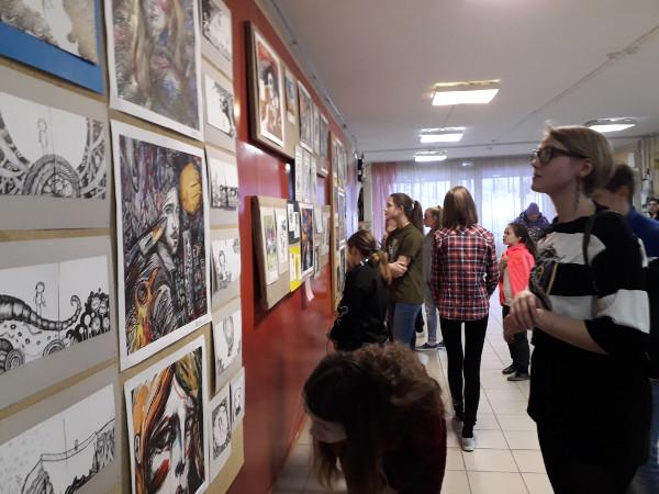 Первая персональная выставка художника